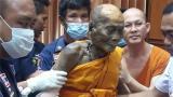 泰国高僧圆寂2个月后 遗体仍如活着般面带微笑