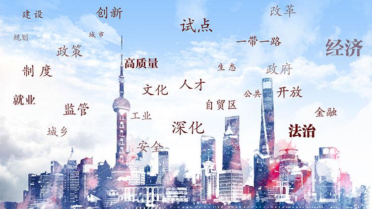 上海政府工作报告出现的十大高频关键词