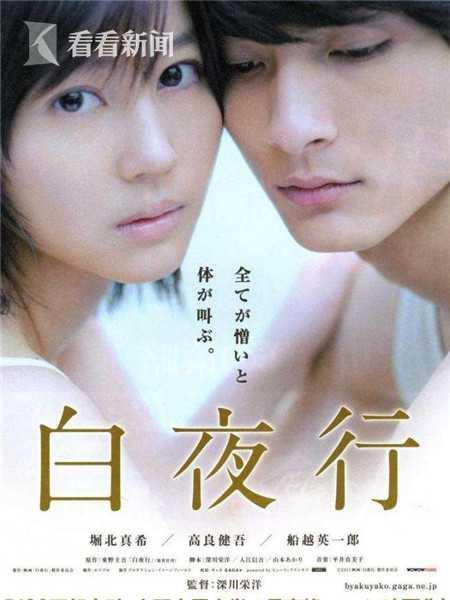 2011年日本电影《白夜行》海报