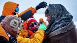 《南极之恋》装备篇 赵又廷裹棉被冻到流鼻涕