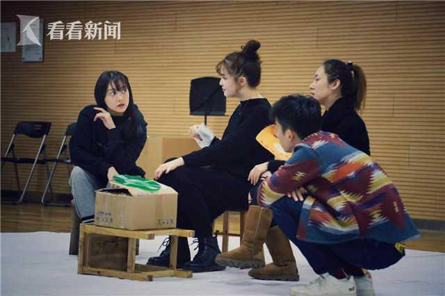 舞台剧《繁花》排练照