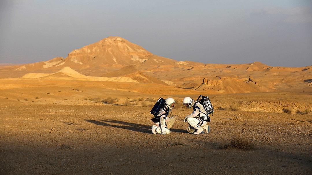 荒漠中与世隔绝!以色列首次模拟火星生存