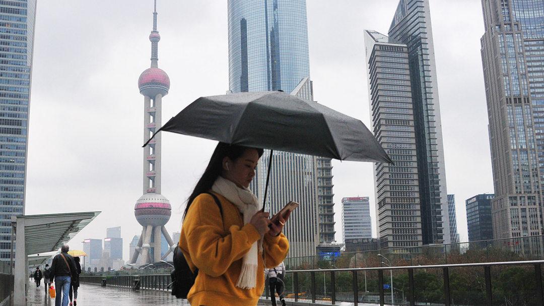 """今日迎""""雨水""""节气 申城长假后期进入雨水模式"""