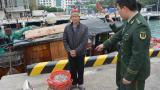 海南:非法捕捞水产品 海警依法处置