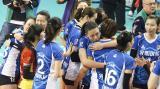 上海女排战胜江苏 大比分3比1挺进决赛