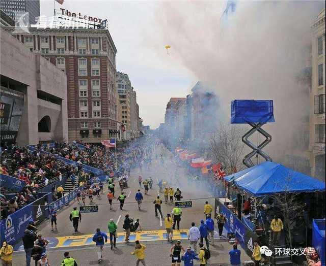 波士顿马拉松惨案