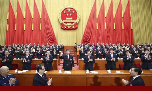 习近平全票当选国家主席 中央军委主席