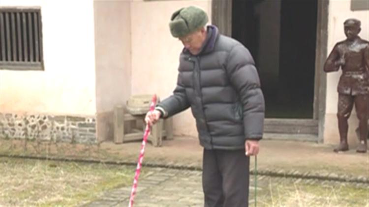 八旬老人22年坚守陈毅旧居 只因母亲生前一句话