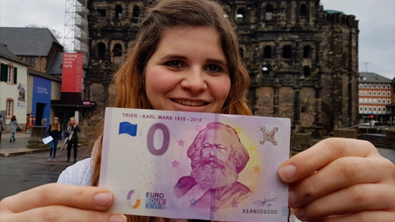 """德国发行""""0元""""欧元纸币 不能用还要花钱买"""