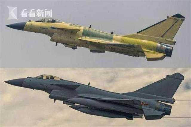 5.jpg    歼-10C(上)歼-10B(下)