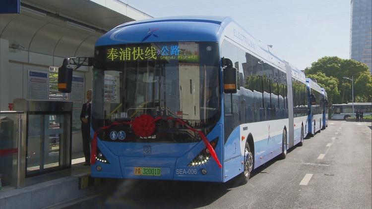 上海中运量公交开进郊区啦!