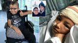 8岁男孩每天发癫痫数十次 父母决定手术让其残疾