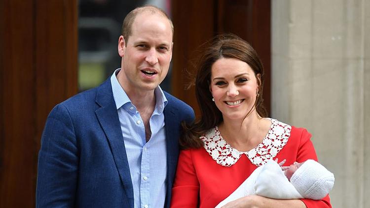 凯特王妃诞下男婴 猜猜呼声最高的名字是什么?