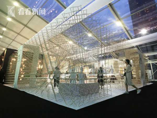 """""""设计上海""""的羊舍展台-物的舍之美"""