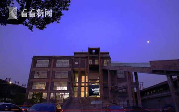 夜幕下的杨明洁设计博物馆