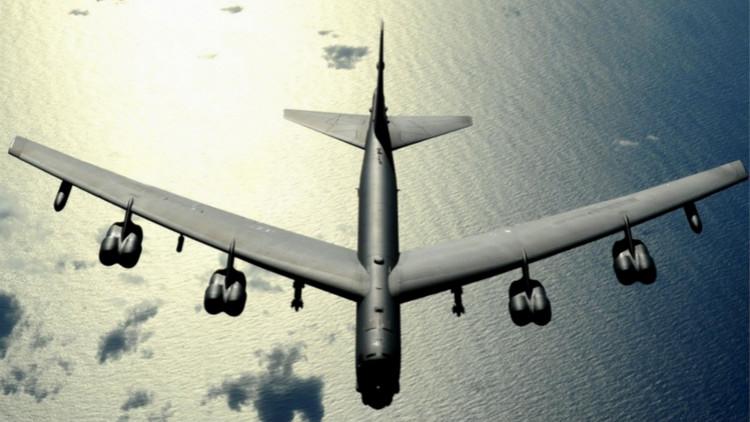 美B-52轰炸机飞至南海示威 显示为台撑腰决心