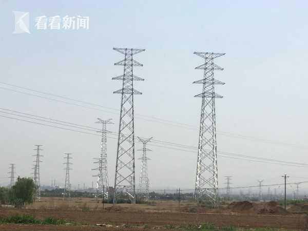 新建高压线杆塔
