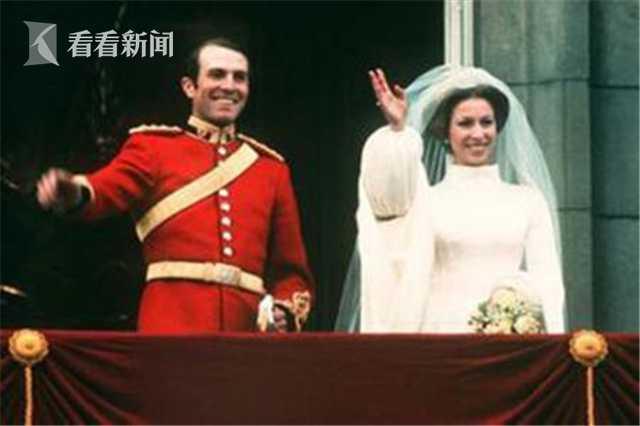 安妮公主和马克·菲利普斯上尉