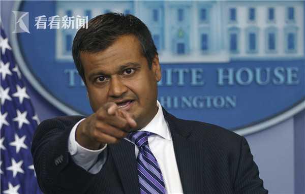 白宫副发言人拉杰·沙阿