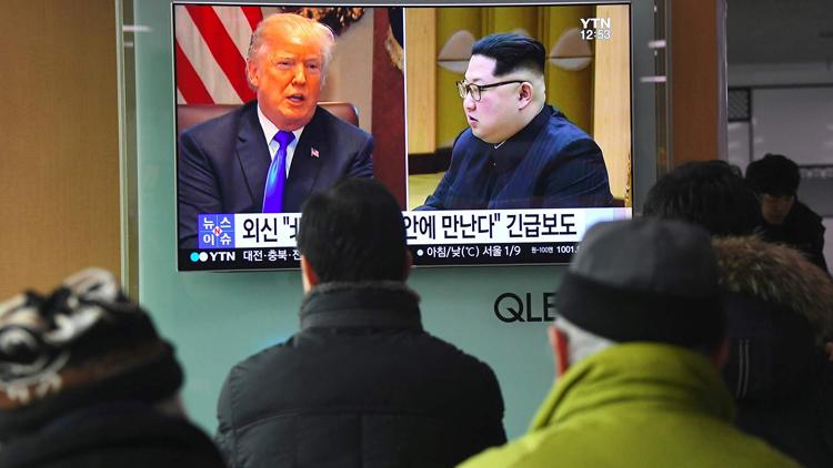 特朗普说美方团队已抵朝为两国领导人会晤做准备
