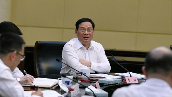 6月11日,李强接受解放日报、文汇报、新华日报、浙江日报、安徽日报联合采访。