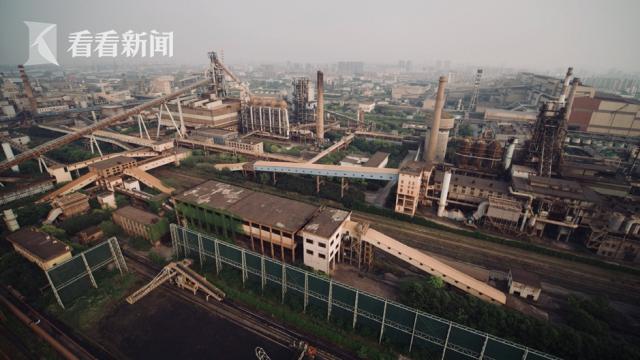26平方公里宝武钢铁工业遗存