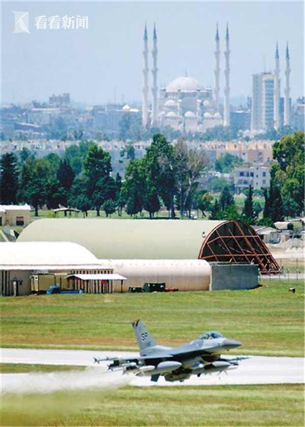 土耳其南部的吉尔力克空军基地