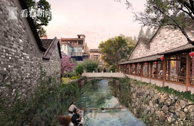 上海美院浙江永康市芝英一村历史文化村落保护设计图