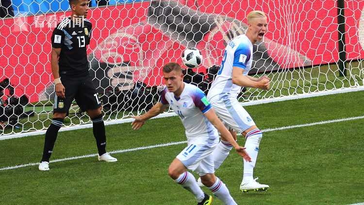 冰岛队迅速扳平比分