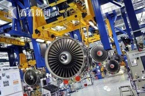 位于法国巴黎市郊的CMF发动机公司LEAP发动机生产线