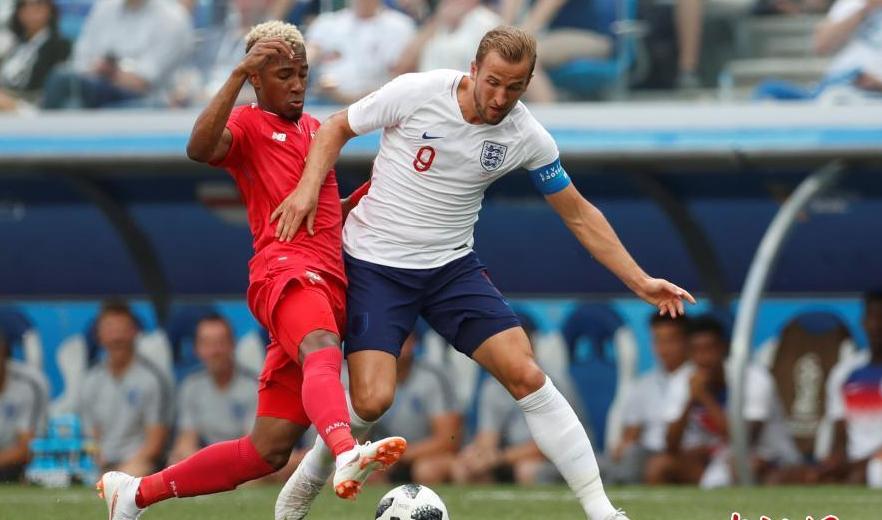 英格兰6-1完胜巴拿马 凯恩带帽跃居射手榜头名