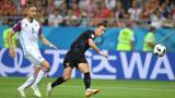 克罗地亚2-1力克冰岛 小组第一强势出线