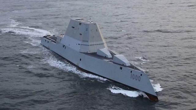 """美军DDG000""""朱姆沃尔特""""级先进驱逐舰"""