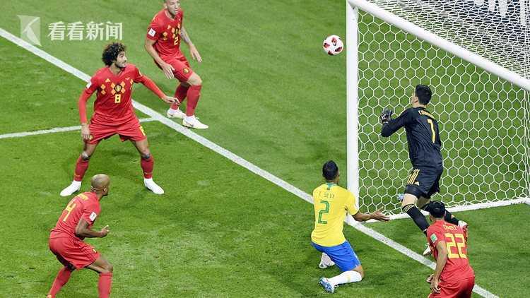巴西队开场险些取得领先