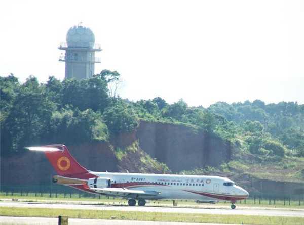 已经投入运营的成都航空B-3387号ARJ-21-700