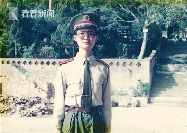 谈剑峰在军校读书
