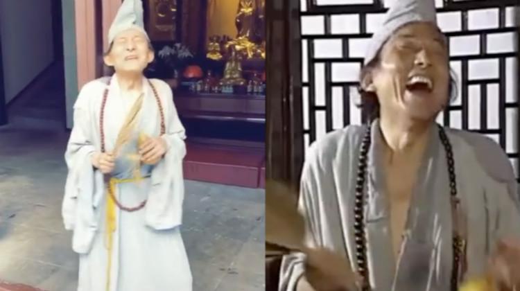 """85岁游本昌再扮济公 网友齐呼""""童年回来了"""""""