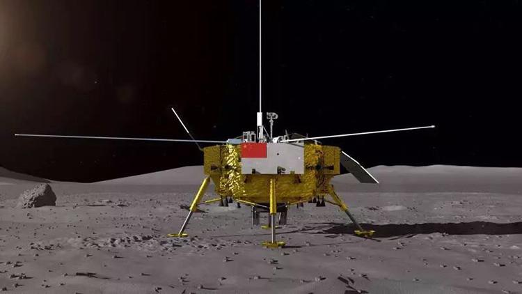 嫦娥四号着陆器和月球车外观设计构型公布