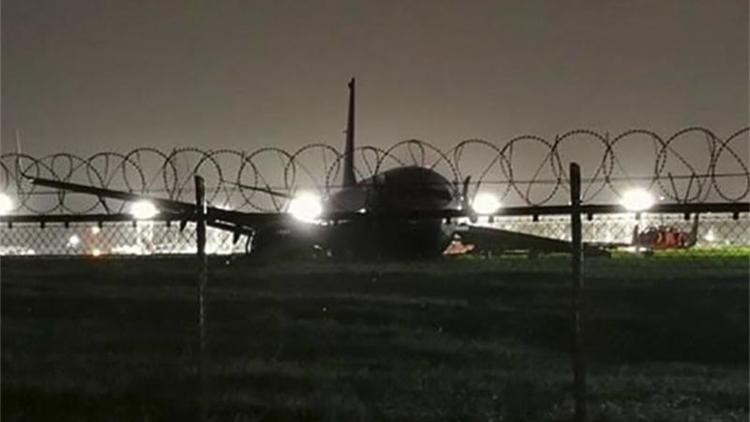 厦航飞机马尼拉降落后冲出跑道 幸无人员受伤