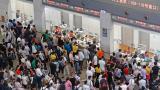 """受台风""""温比亚""""影响 长三角铁路新增停运列车"""