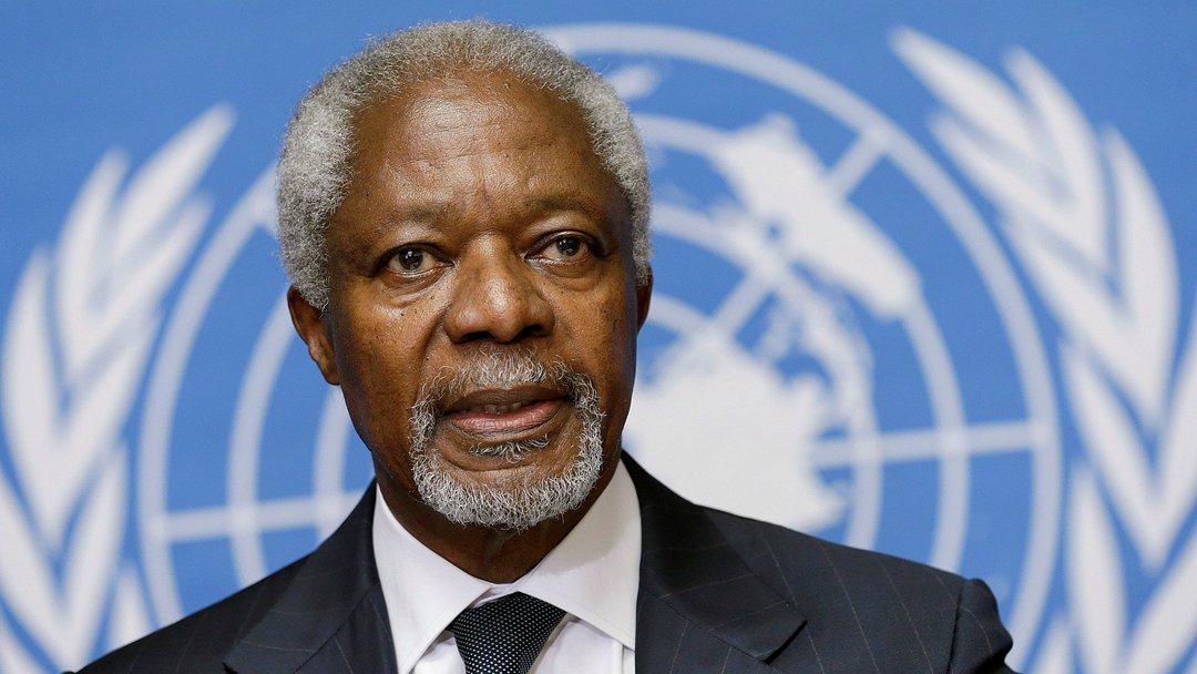 联合国前秘书长科菲·安南去世 享年80岁