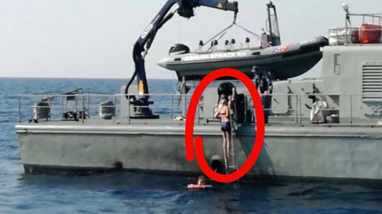 英国空姐酒后从邮轮坠海 漂流10小时奇迹获救