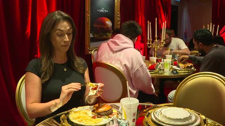 麦当劳推出首家奢华餐厅 用贵族方式吃汉堡吧!