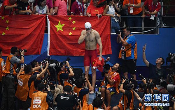 勇夺7金 亚运会首日中国队以16枚奖牌强势登顶