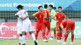 亚运会男足1/8决赛 中国3:4沙特 无缘8强
