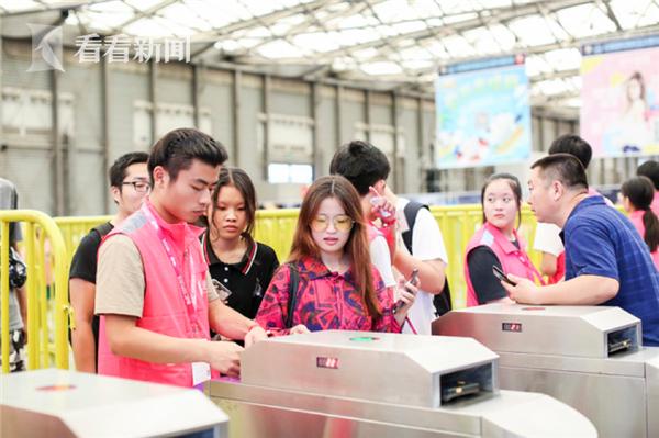 2018ChinaJoy购票用户只需扫描购票二维码便可快速入场