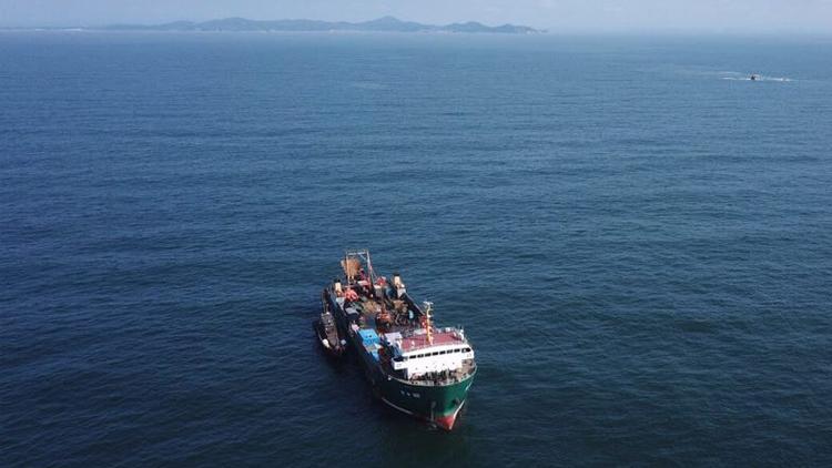 大发现!大连庄河海域发现甲午海战沉舰