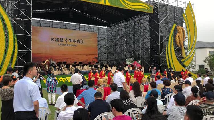 首届中国农民丰收节 浦东美丽乡村嘉年华