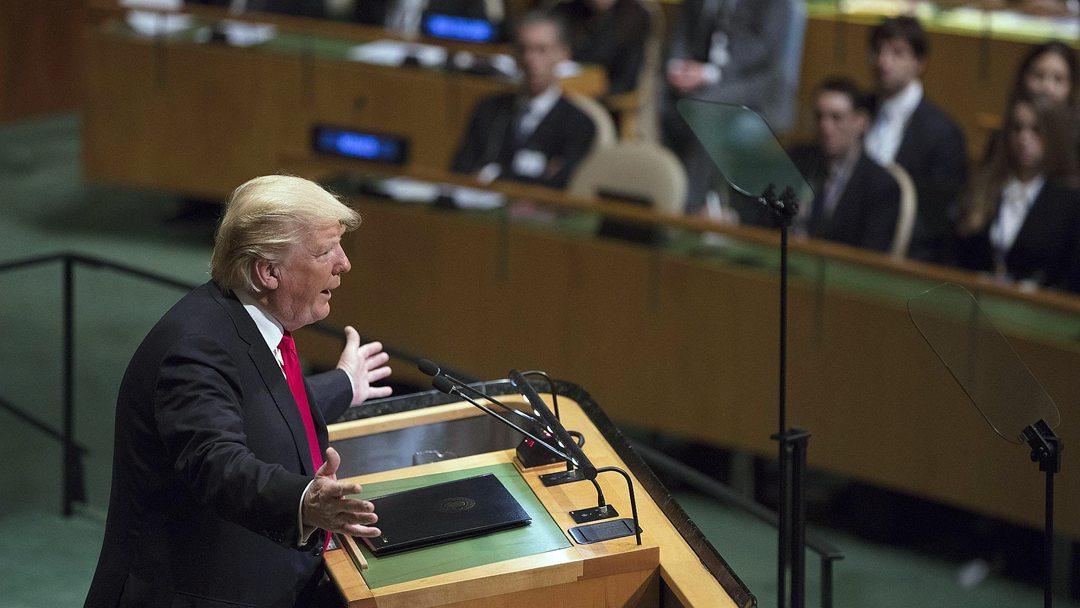 特朗普联大演讲:他一开口 大家都笑了
