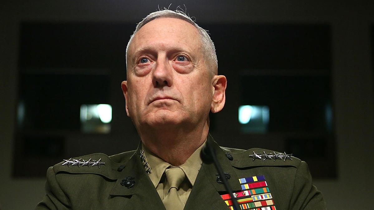 美国国防部长詹姆斯·马蒂斯